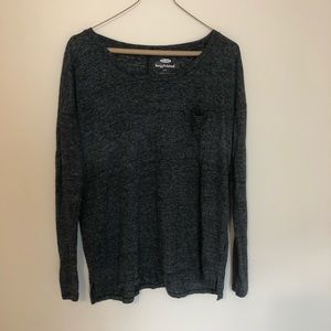 Old Navy Boyfriend Long Sleeve Top